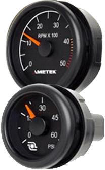 Photo of some gauges
